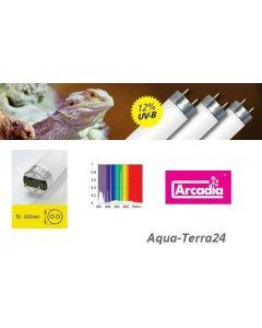 für €15,75, Arcadia D3+ Desert 14-38W T8 UVB Reptilienlampe Desert, 12/30% UVB/UVA, Reptile Lamp