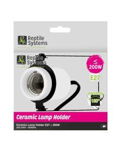 für €17,99, Reptile Systems Keramik-Lampenhalterung E27 für Reptilien und Vögel