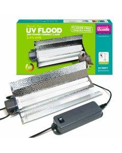 für €74,99, Arcadia D3+ UV Flood (Parrot Pro - Bird) 24 Watt, Vogel Lampe